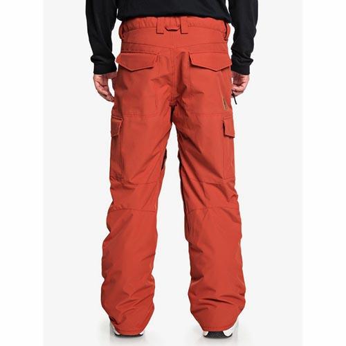 Pantalón de snowboard Quiksilver Porter naranja 2020