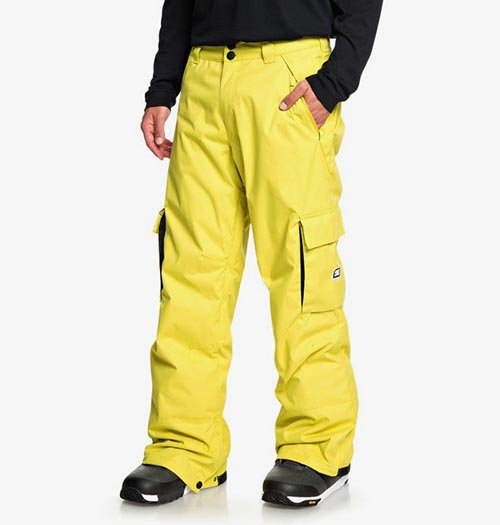 Pantalón de snowboard DC Banshee amarillo 2020