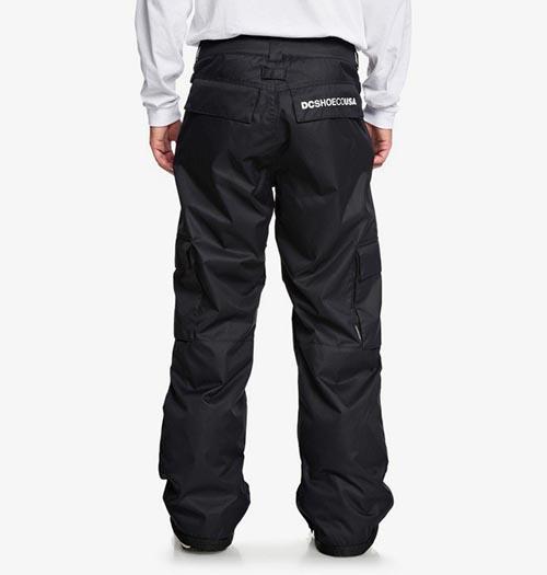 Pantalón de snowboard DC Banshee negro 2020