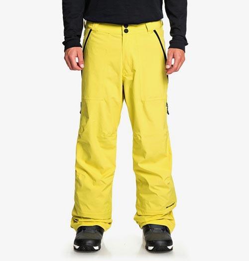 Pantalón de snowboard DC Nomad amarillo 2020