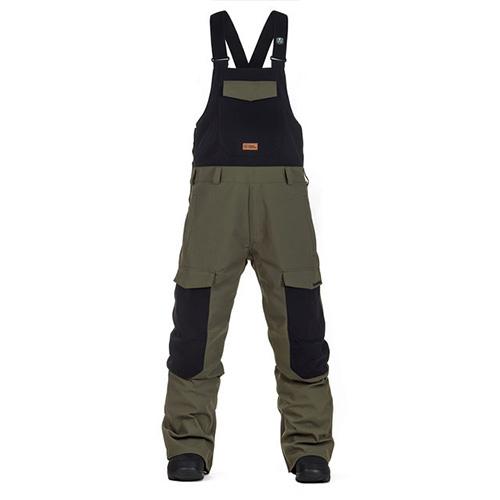 Peto de snowboard Horsefeathers Medler Pants Olive 2020
