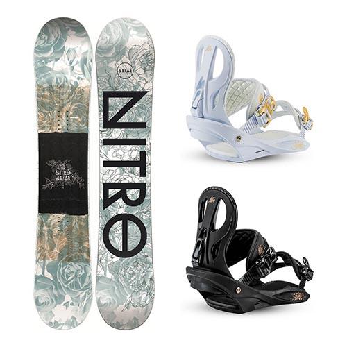 Pack de snowboard Nitro Arial 2020