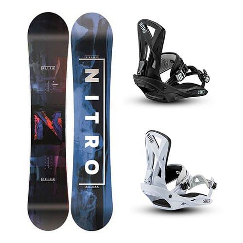 Pack de snowboard Nitro Prime Staxx 2020
