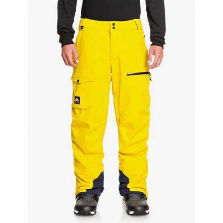Pantalón de snowboard Quiksilver Utility amarillo 2021