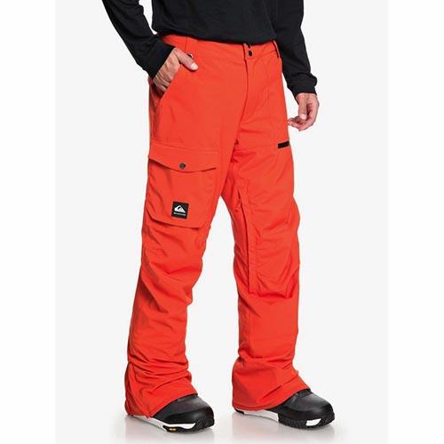 Pantalón de snowboard Quiksilver Utility naranja 2020