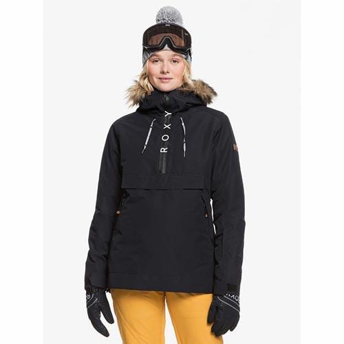 Chaqueta de snowboard Roxy Shelter Negro 2020
