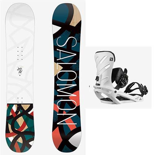 Pack de snowboard Salomon Lotus Rhythm 2020