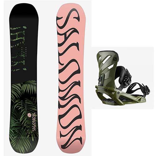 Pack de snowboard Salomon Oh yeah Rhythm 2020