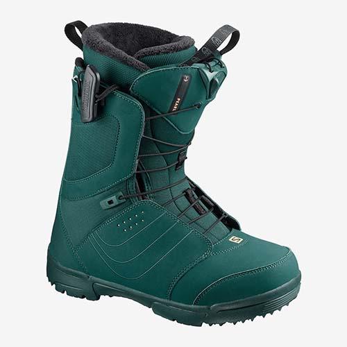 Botas de snowboard Salomon Pearl verde 2020