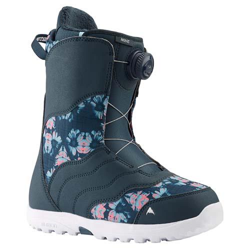Bota de snowboard mujer Burton Mint Boa flores 2020