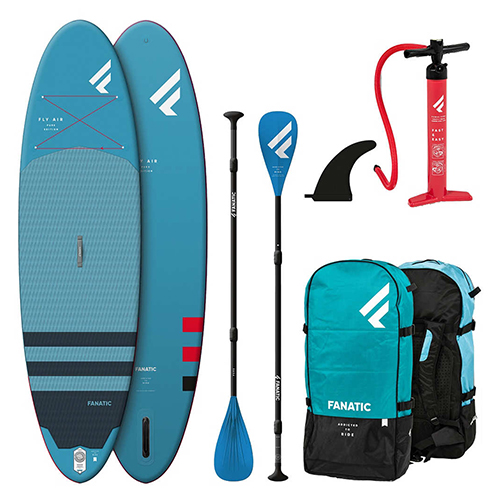 Pack de Paddle Surf Fanatic Fly Air 10 8″ 2020