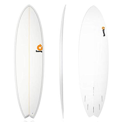 Tabla de surf Torq Fish 6 10″ Pinline White
