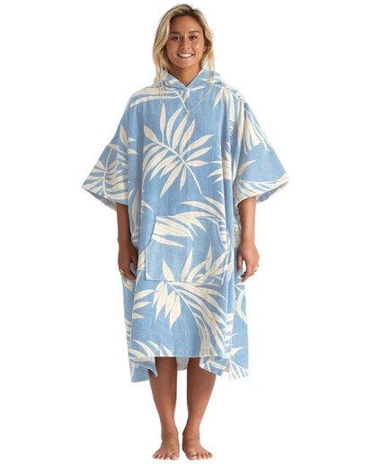 Poncho Billabong Hodded Towel Palms