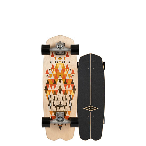 SurfSkate Carver 28.25 Spectra Ejes CX Raw