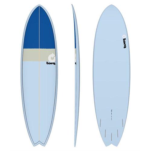 Tabla de surf Torq Fish Blue Sand