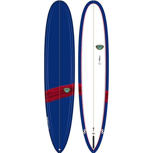 Tabla de surf Venon Longboard Volute 9 Navy