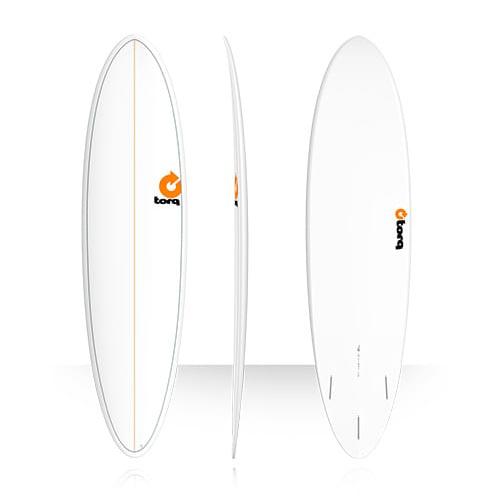 Tabla de surf Torq Fun 7 2″ Pinline White