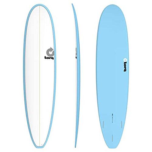 Tabla de surf Torq Malibu Pinline White Blue