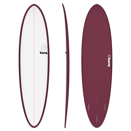 Tabla de surf Torq Fun 7 2″ Pinline Burgundy