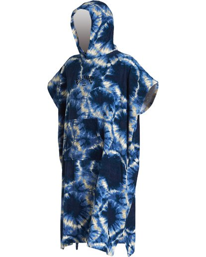 Poncho de niño Billabong Hooded Towel Blue tie dye
