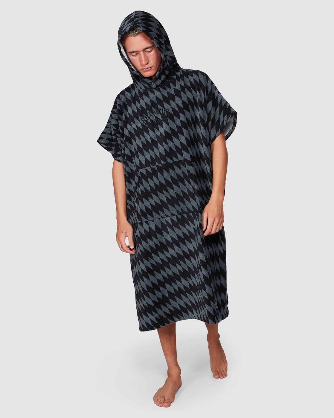 Poncho Billabong Hooded Towel Diamonds