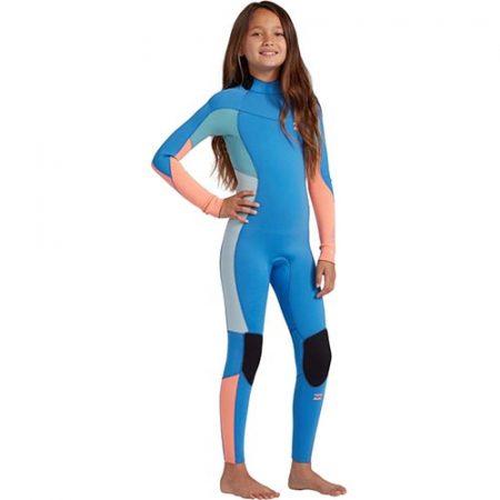 Neopreno de niña Billabong Synergy 3×2 BZ Blue Lagoon