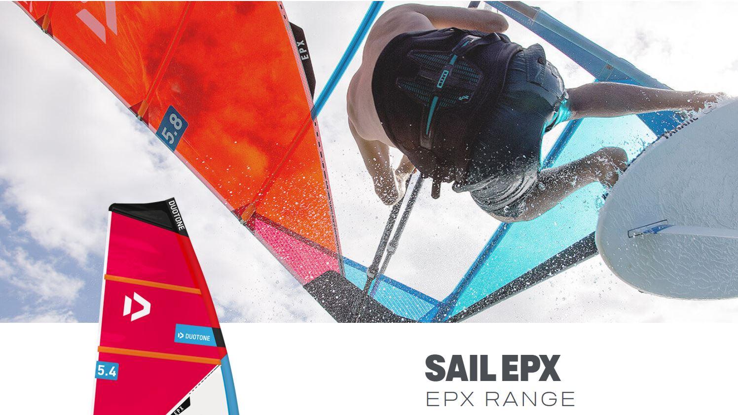 Vela de windsurf Duotone EPX