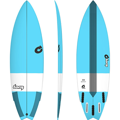 Tabla de surf Torq Tec GoKart 5 8″ Blue