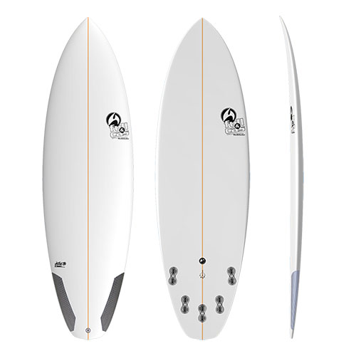 Tabla de surf Full&Cas RF3