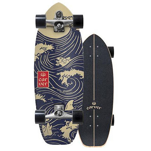 SurfSkate Carver 28 Snapper Ejes C7 Raw