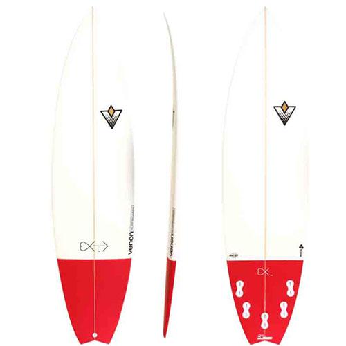 Tabla de surf Venon EDV2 Burgundy