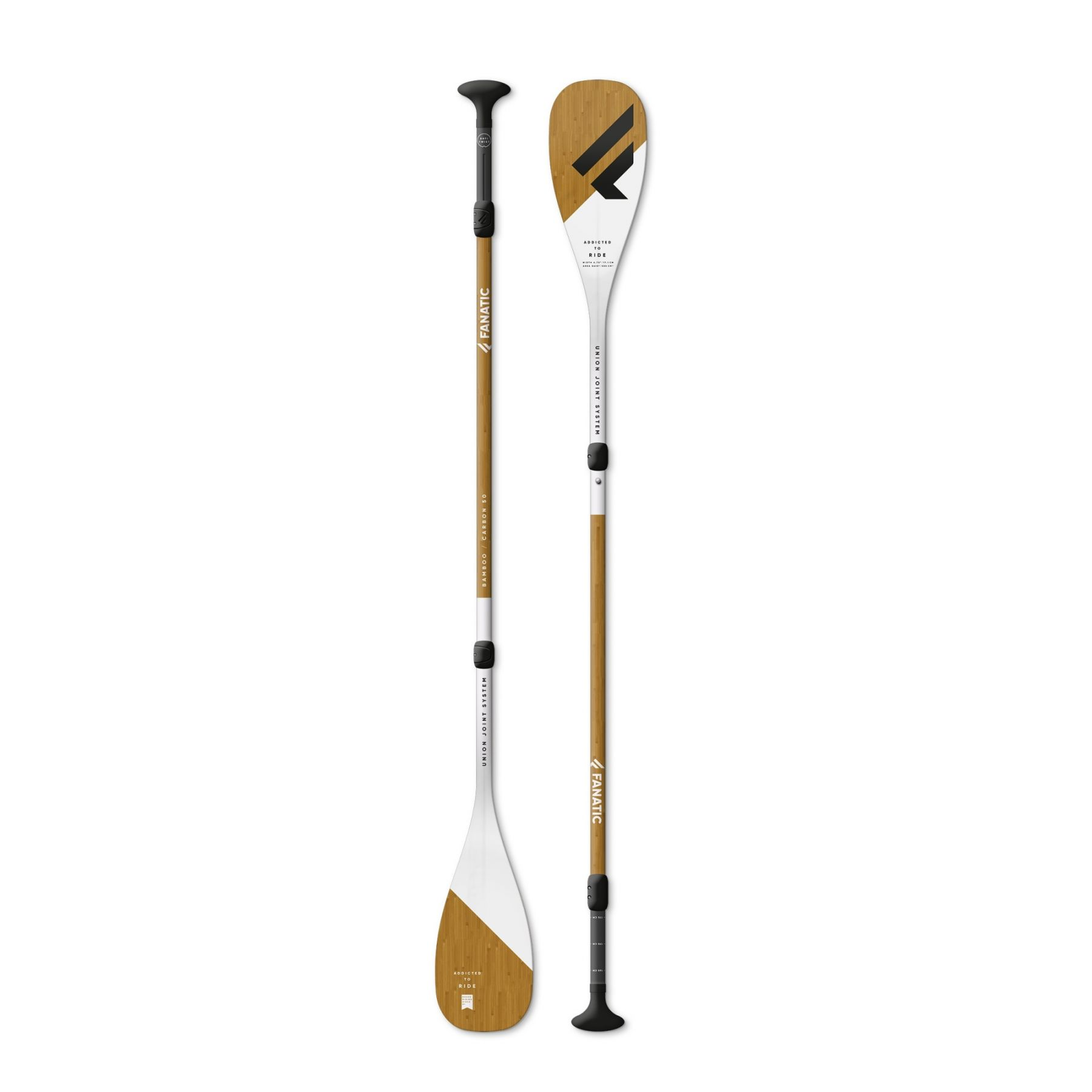 Remo de paddle surf Fanatic Carbon 50 ajustable 3 piezas