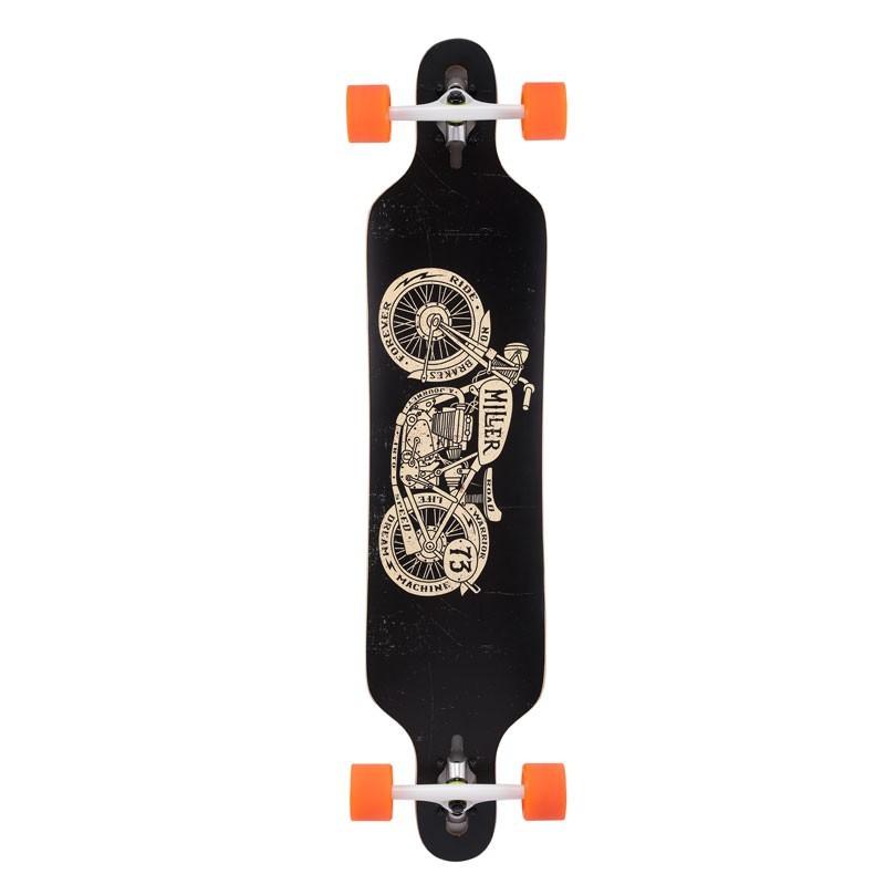 Longboard skate Miller Moto Brat Racer 41