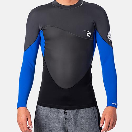 Camiseta de neopreno Rip Curl Omega 1.5 Blue