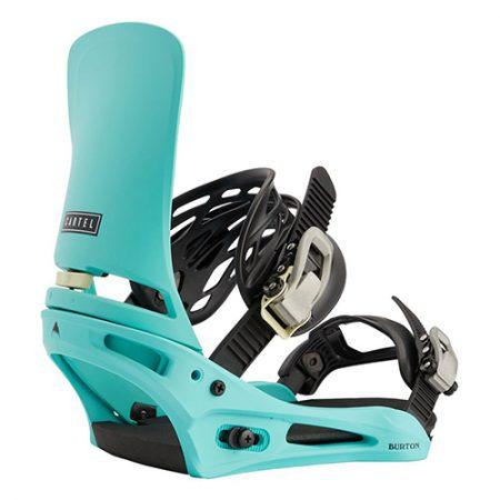 Fijaciones de snowboard Burton Cartel Glacier Green 2021