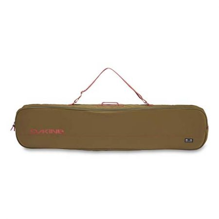 Funda de snowboard Dakine Pipe Bag Dark olive dark rose 2020