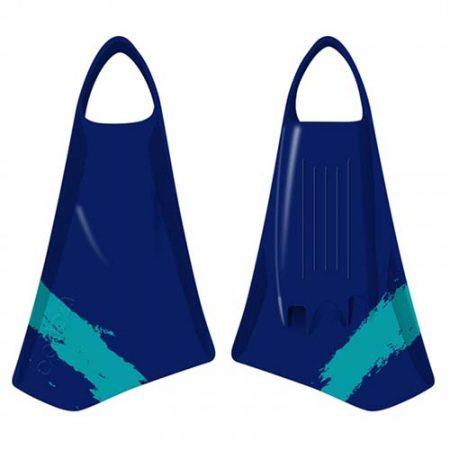 Aletas de Bodyboard Option MK2 Blue Teal