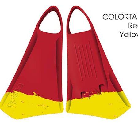 Aletas de Bodyboard Option MK2 Red Yellow