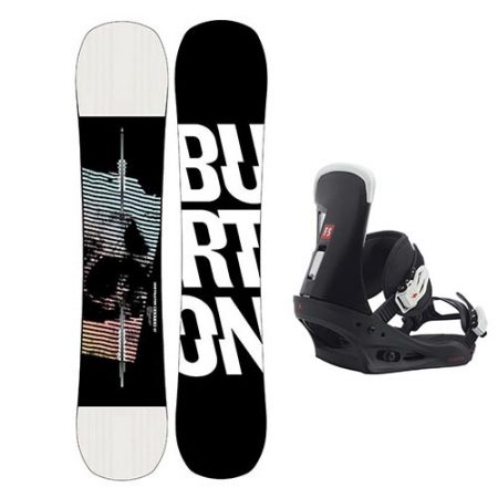 Pack de snowboard Burton Instigator Fijaciones Burton Freestyle 2021