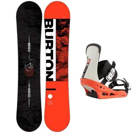 Pack de snowboard Burton Ripcord fijaciones Freestyle 2021