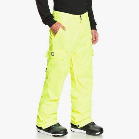 Pantalón de snowboard DC Banshee amarillo 2021