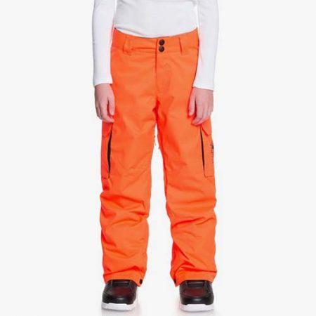 Pantalón de snowboard para niño DC Banshee naranja 2021