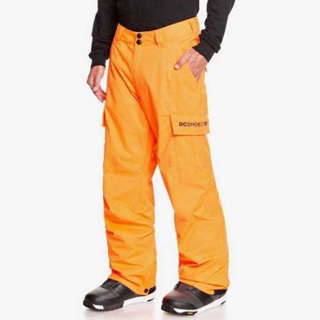 Pantalón de snowboard DC Banshee naranja 2021