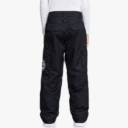 Pantalón de snowboard para niño DC Banshee negro 2021