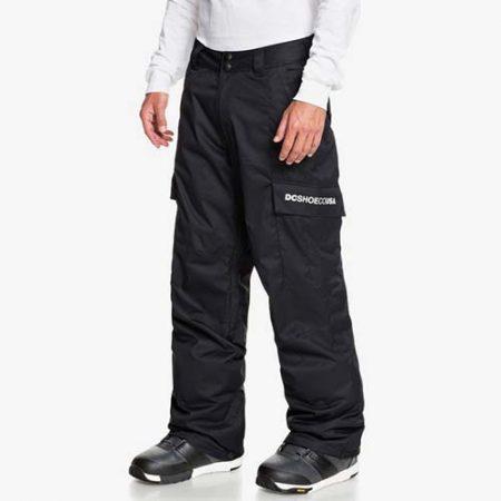 Pantalón de snowboard DC Banshee negro 2021