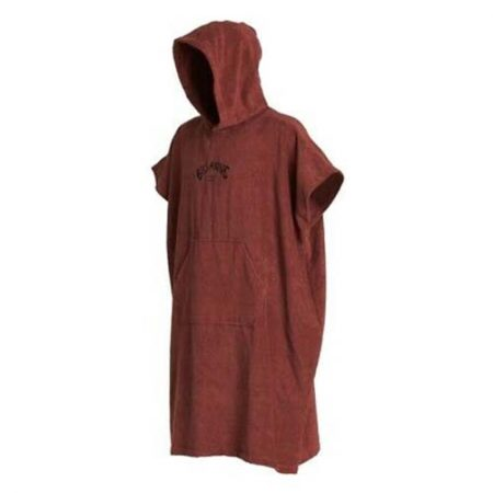 Poncho Billabong Hooded Towel wine