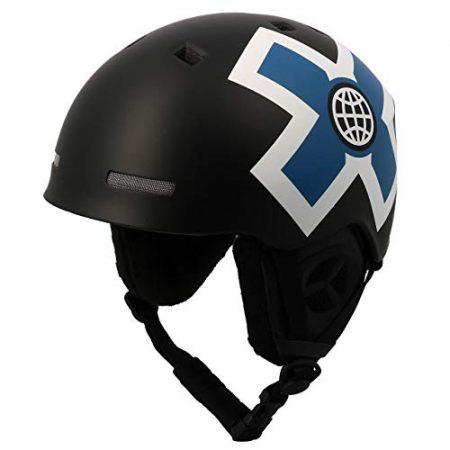 Casco de snowboard Prosurf X-Game Negro Azul
