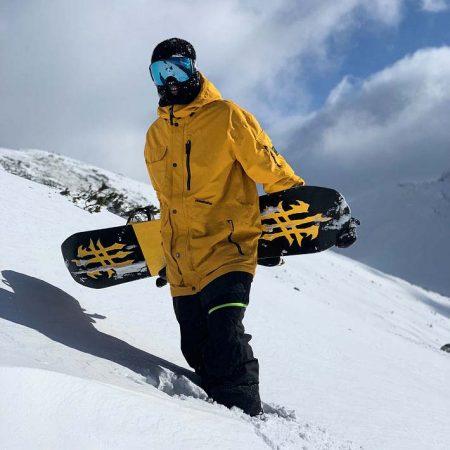 Chaqueta de snowboard Horsefeathers Barnett