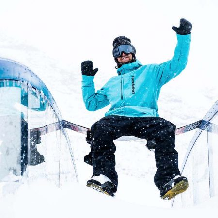 Chaqueta de snowboard Horsefeathers Glenn Scuba Blue