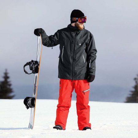 Chaqueta de snowboard Horsefeathers Ymir Phantom